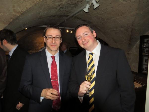 Graeme Watson and David Scanlon