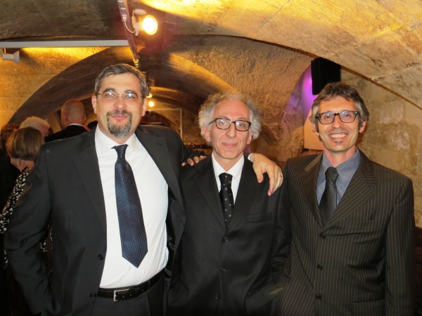 Long-standing collaborators from Italy: Francesco Borgatti, Giancarlo Panaccione, Francesco Offi (from left to right).